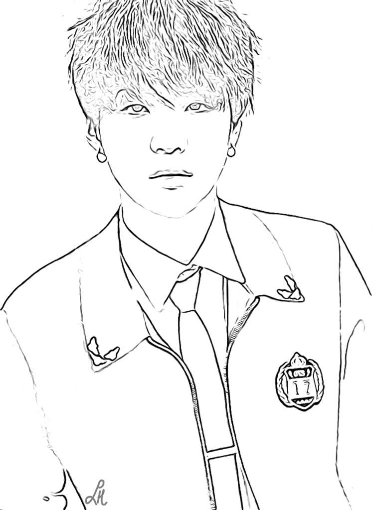 bts v coloring pages bts coloring pages k pop amino v bts coloring pages