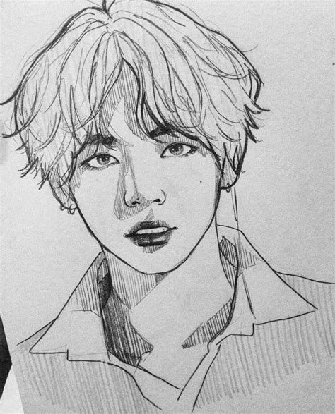 bts v coloring pages bts drawing coloring pages in 2020 bts drawings kpop v coloring bts pages