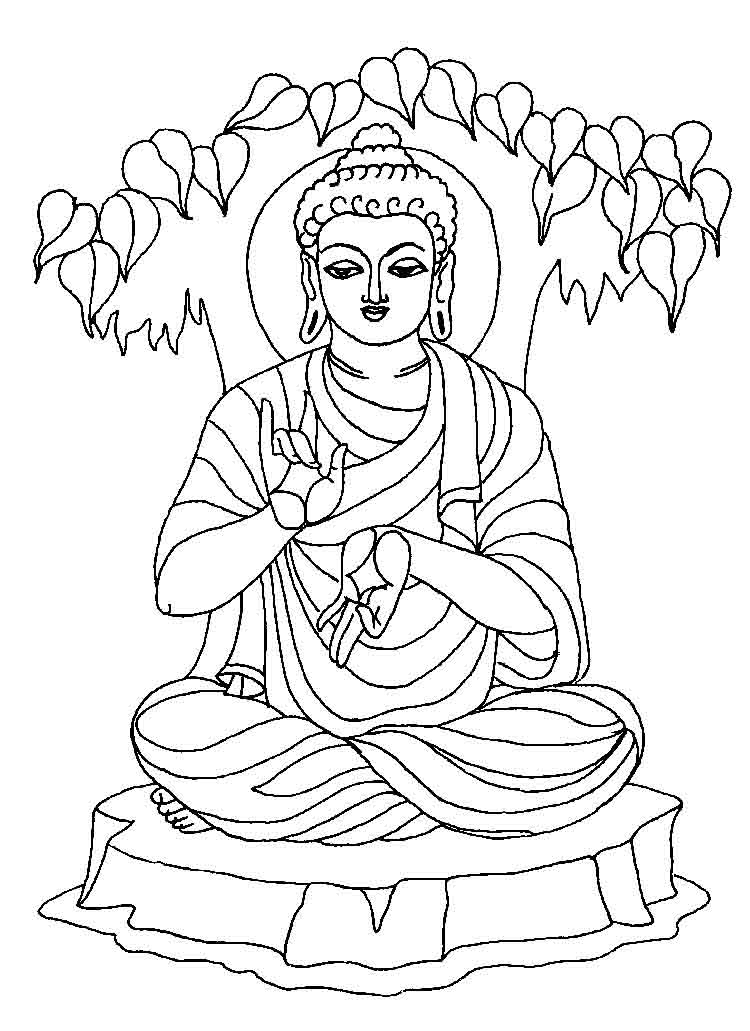 buddha coloring pages coloring pages of buddha coloring home coloring buddha pages
