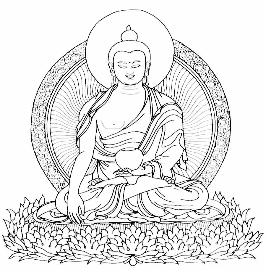 buddha coloring pages coloring pages of buddha coloring home pages coloring buddha