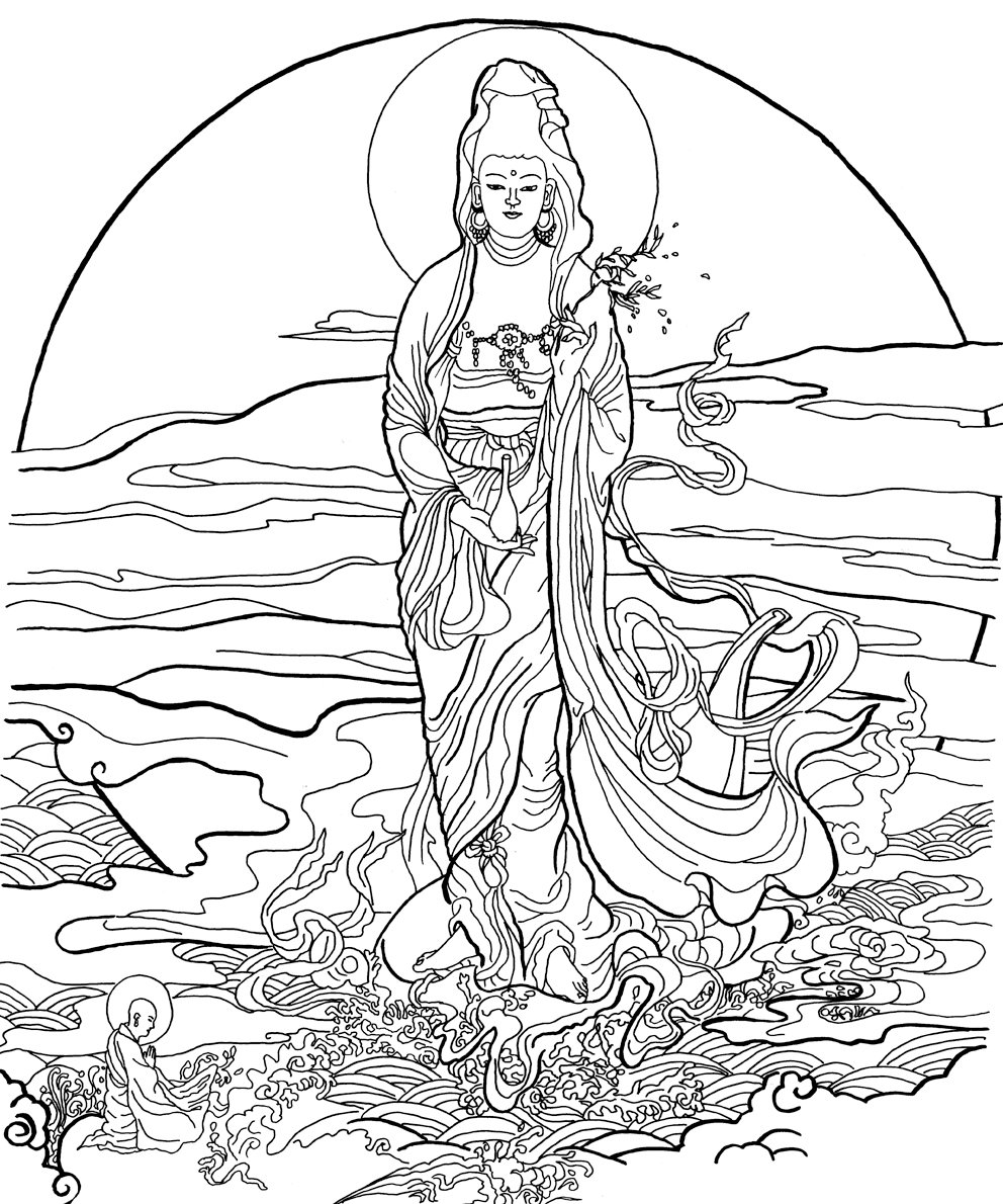 buddha coloring pages freeprintable budhism coloring pages pages buddha coloring