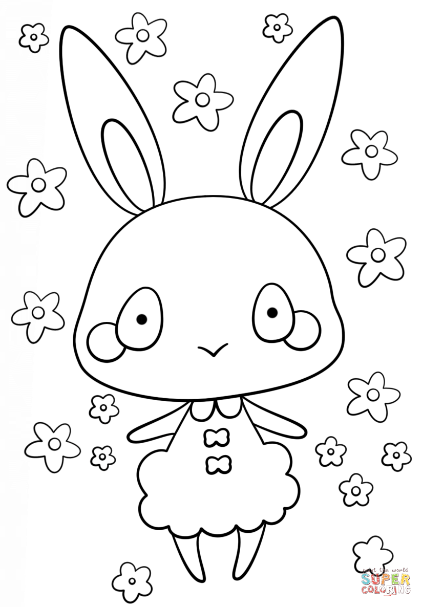bunny girl coloring page pin on pages coloring bunny girl page