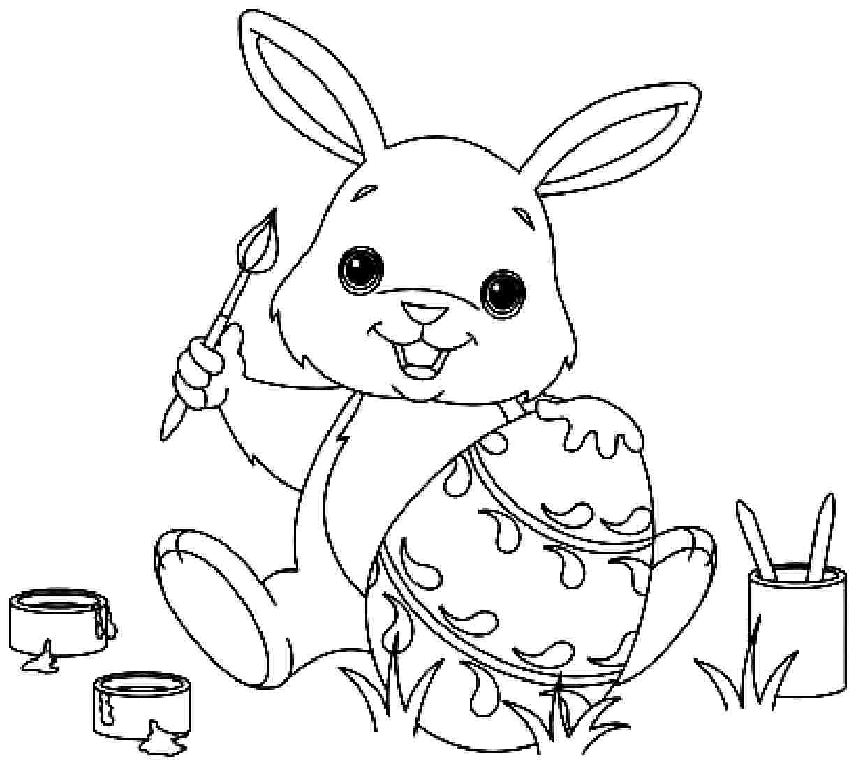 bunny picture to color rabbit to download for free rabbit kids coloring pages color bunny picture to
