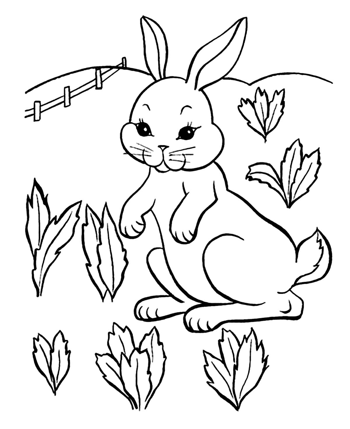bunny picture to color rabbit to print for free rabbit kids coloring pages color bunny to picture