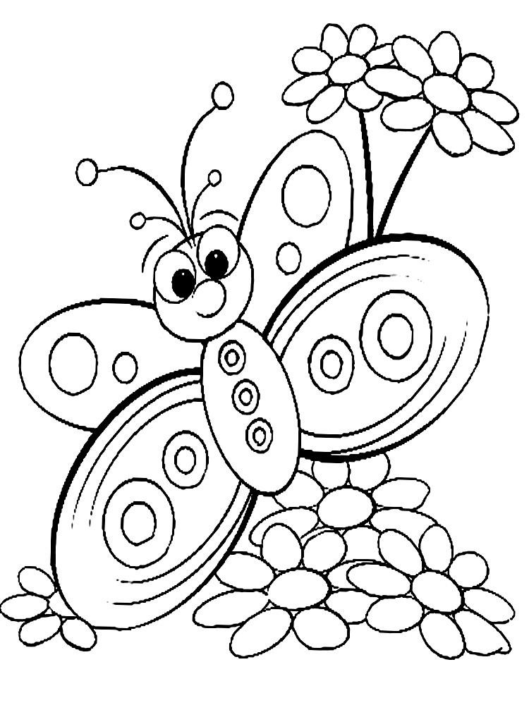 butterfly color page free printable butterfly coloring pages for kids butterfly color page