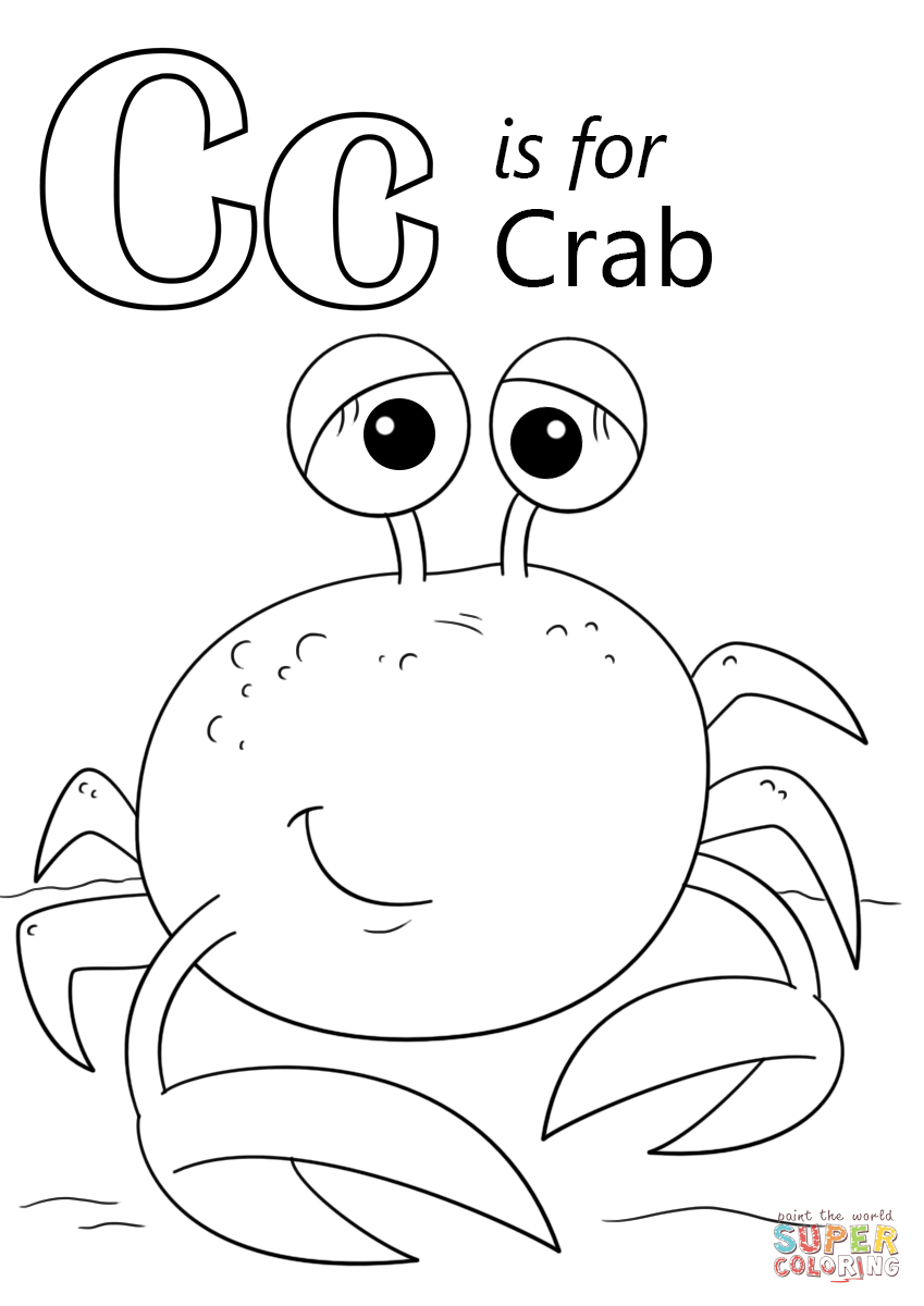 c coloring pages for kids letter c coloring page coloring home c coloring kids pages for