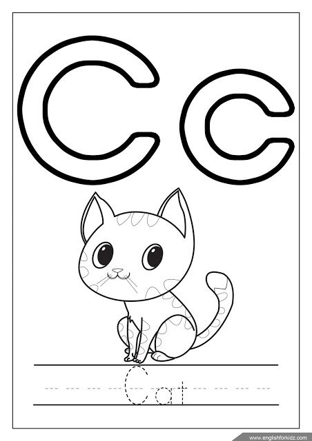 c coloring pages for kids letter c coloring page free printable coloring pages for c kids for pages coloring