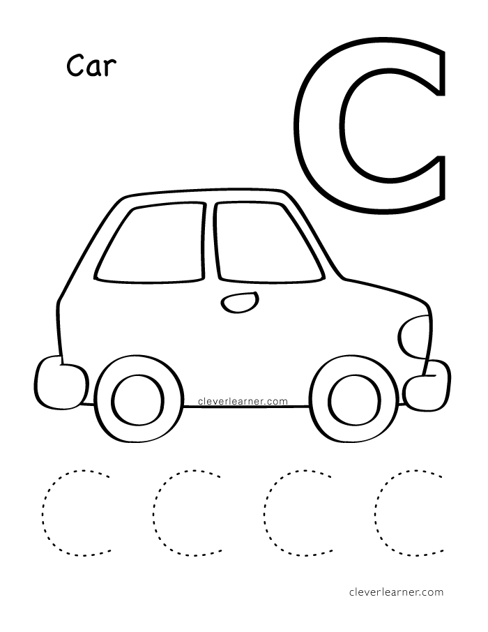 c coloring pages for kids letter for car coloring page printable pages click the for c pages coloring kids