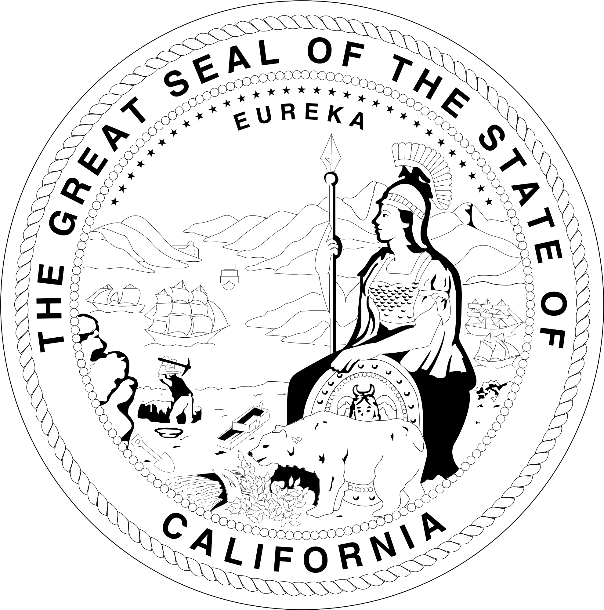 ca state seal seal of california download free clip art with a ca seal state