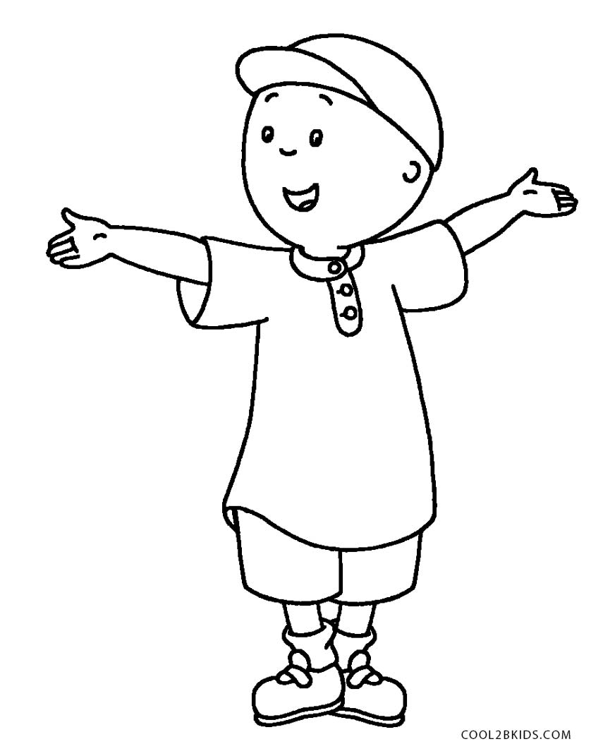 caillou coloring caillou coloring lesson kids coloring page coloring caillou coloring