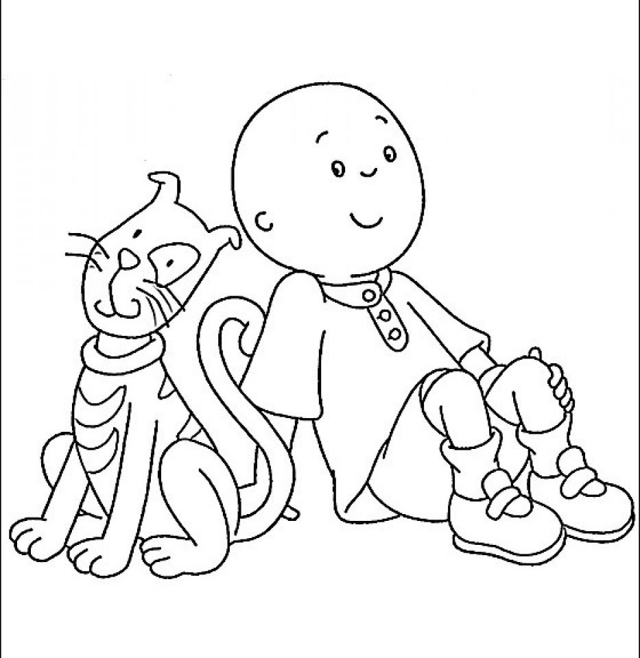 caillou coloring caillou coloring pages best coloring pages for kids caillou coloring