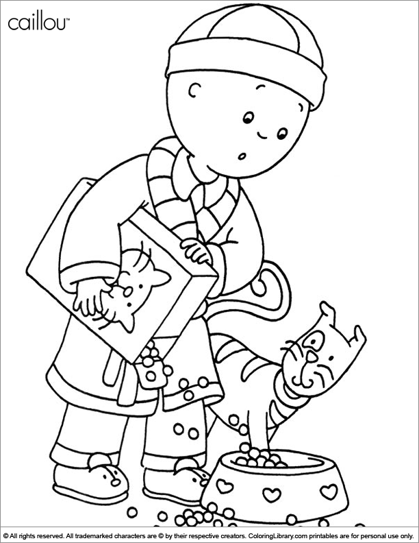 caillou coloring caillou coloring pages best coloring pages for kids coloring caillou