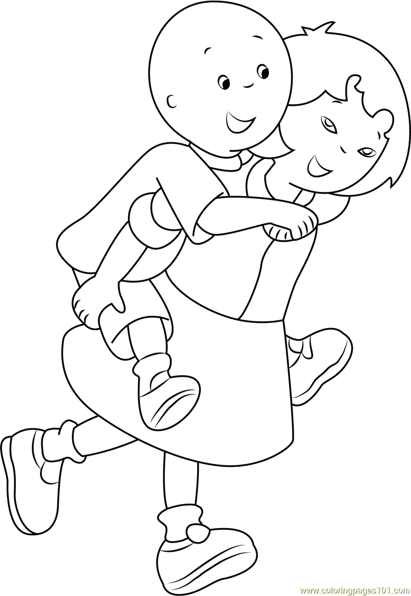 caillou coloring caillou coloring pages to download and print for free coloring caillou
