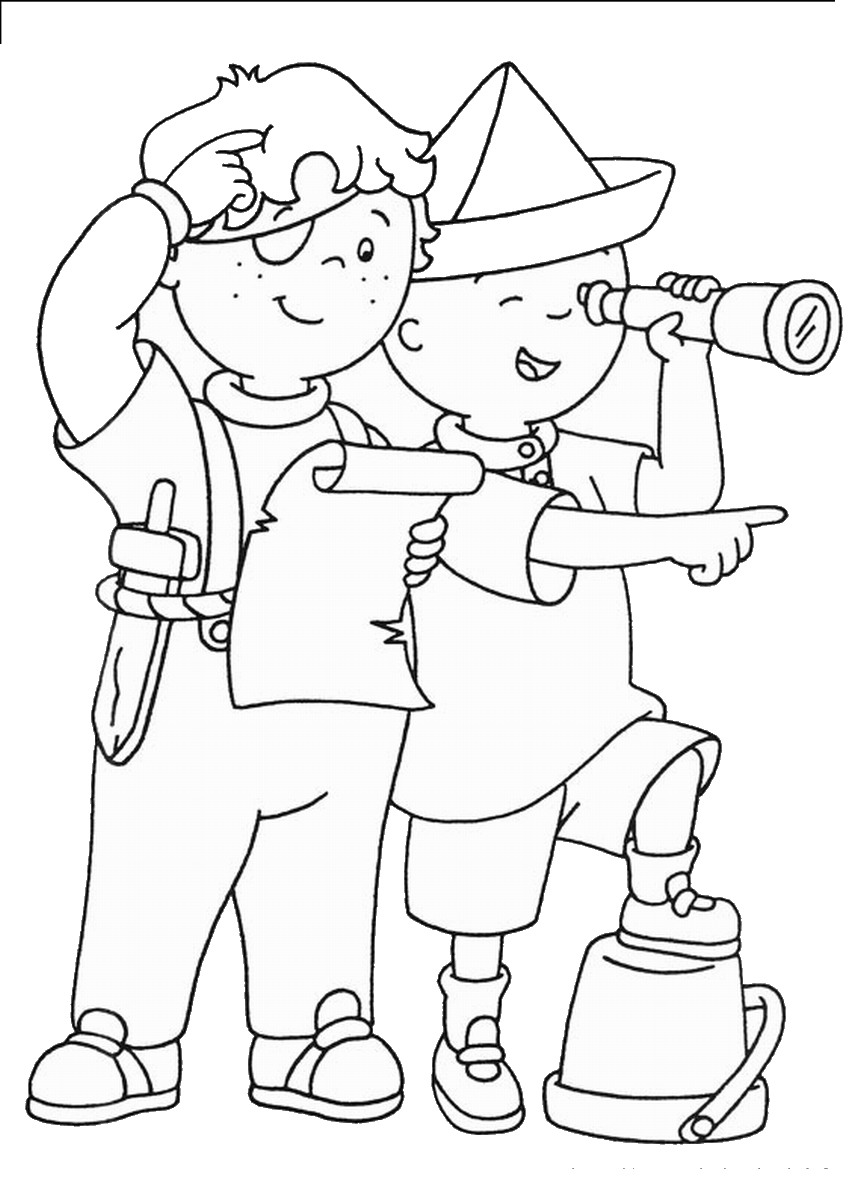 caillou coloring caillou coloring sheet online for children caillou coloring