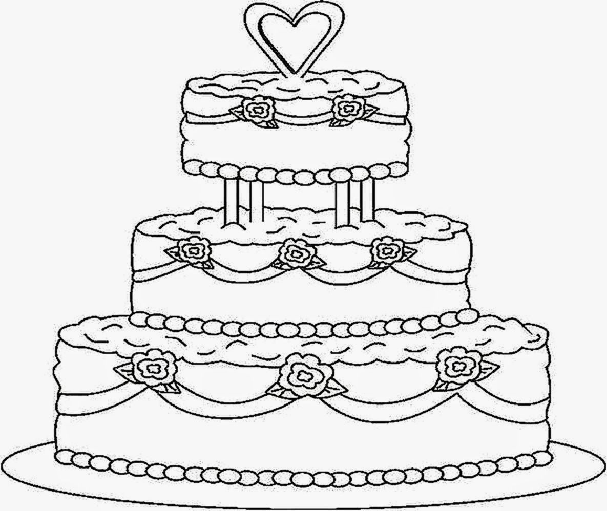 cake coloring pages to print free printable birthday cake coloring pages for kids to print pages coloring cake