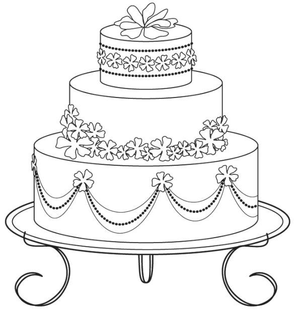 cake coloring pages to print free sweet wedding cake coloring pages printable torta print cake coloring to pages