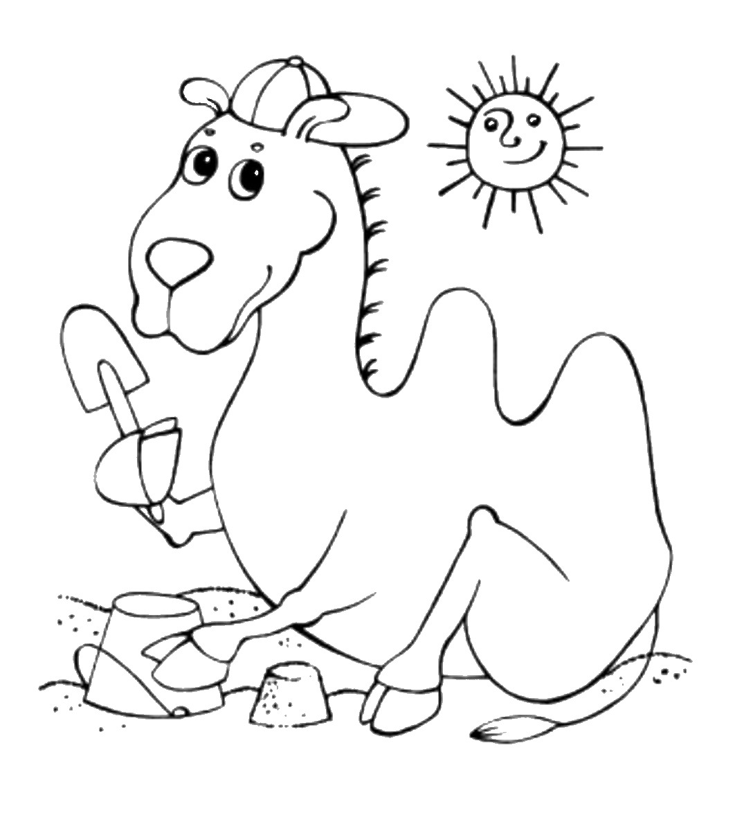 camel pictures to colour camel coloring pages camel to colour pictures