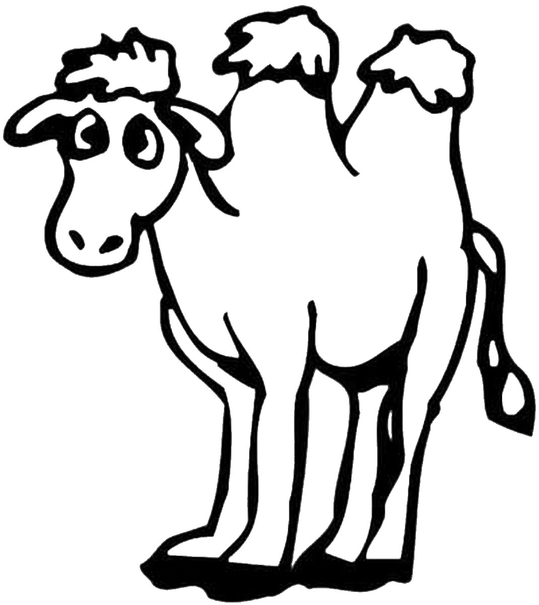 camel pictures to colour free printable camel coloring pages for kids colour camel pictures to