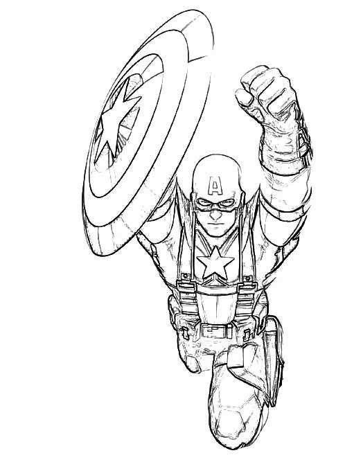 captain america coloring pages pdf classic captain america coloring page coloring pages for captain coloring america pages pdf