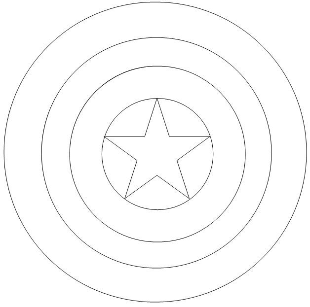 captain america shield coloring pages printable captain america logo coloring page coloring pages pages coloring america captain printable shield