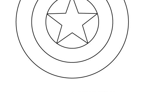 captain america shield coloring pages printable captain america shield coloring page captain americ america shield coloring captain printable pages