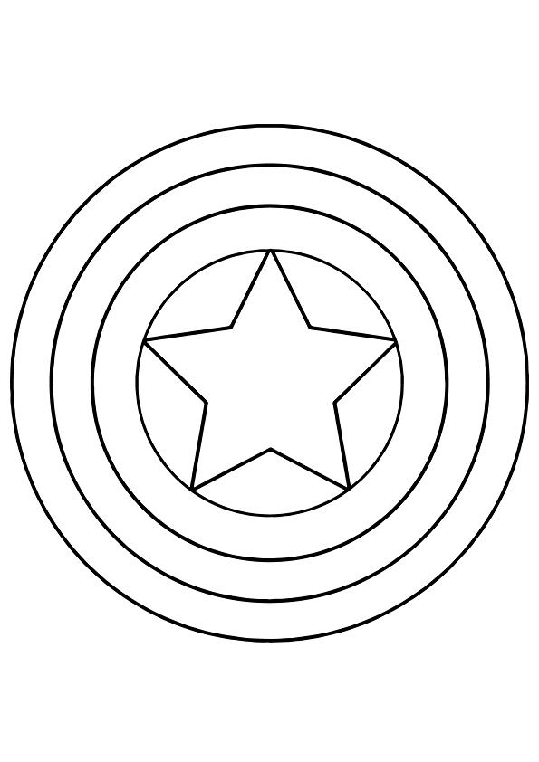 captain america shield coloring pages printable captain america shield coloring page coloring pages for kids printable captain america shield coloring pages