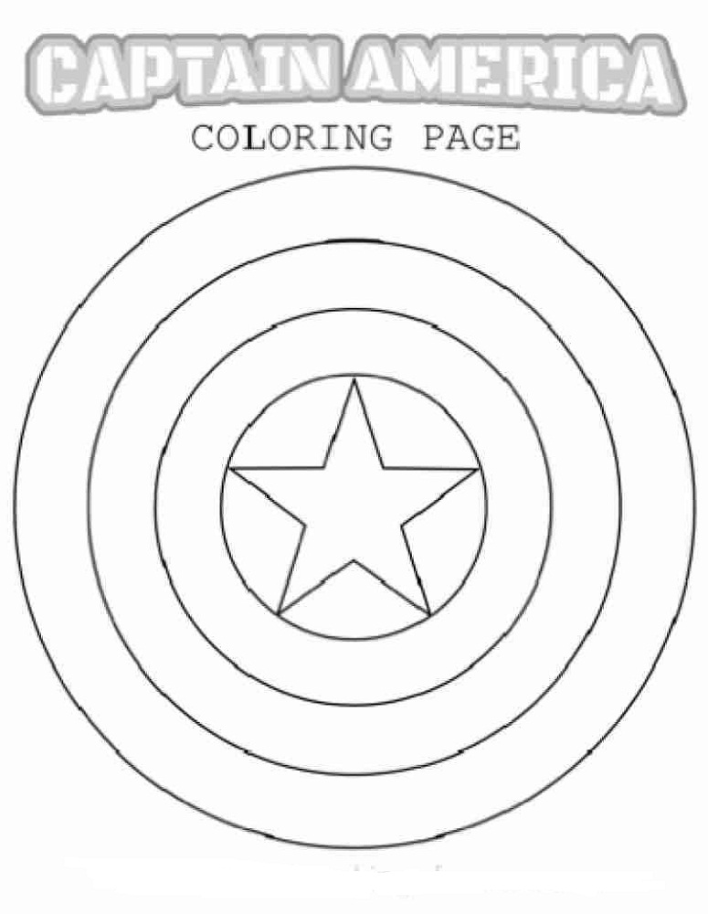 captain america shield coloring pages printable captain america shield coloring page fresh diy captain pages coloring captain printable shield america