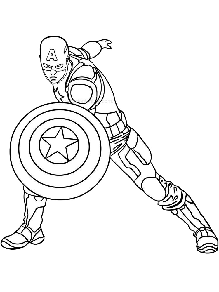 captain america shield coloring pages printable free printable captain america coloring pages for kids captain america printable coloring shield pages