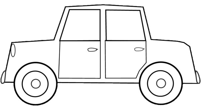 car clipart coloring free how to draw a garbage truck download free clip art coloring car clipart