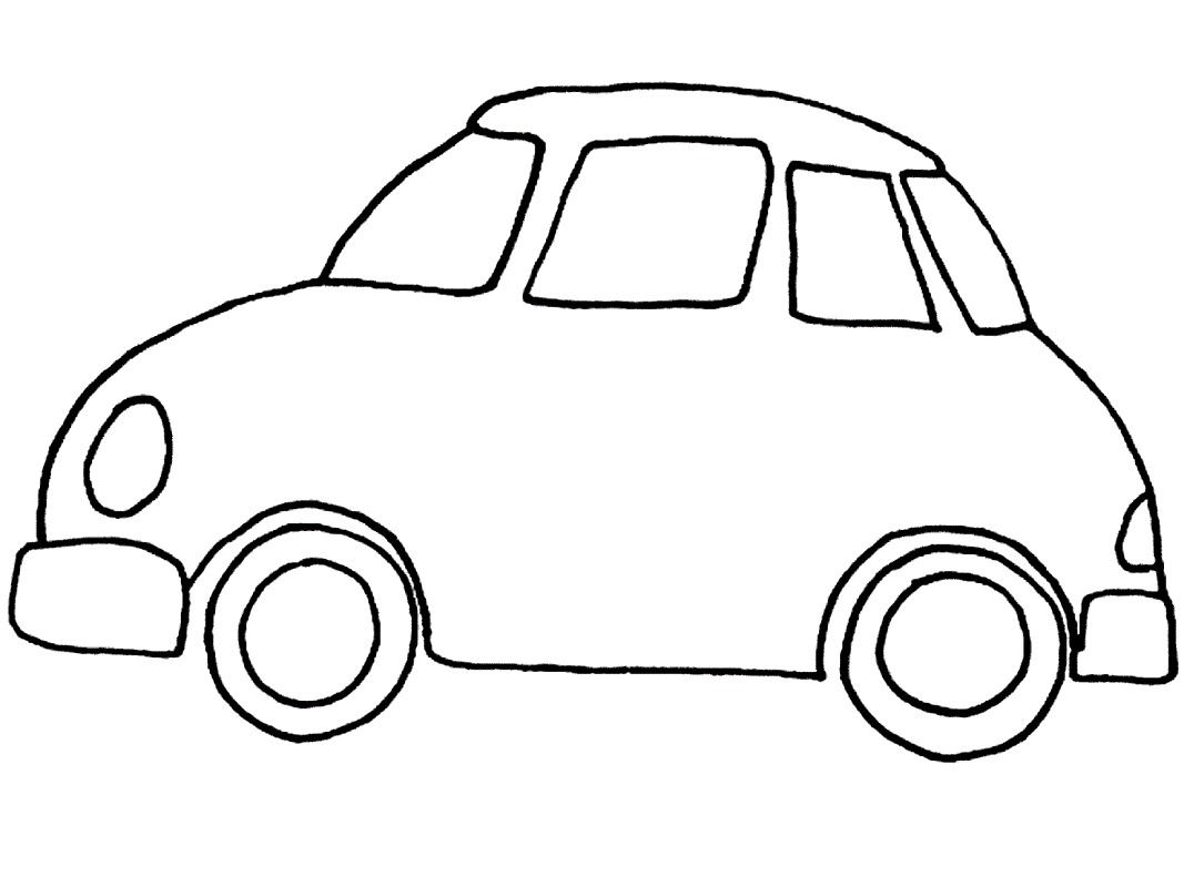 car clipart coloring sports car drawing outline at getdrawings free download coloring clipart car