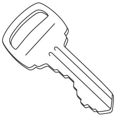 car key coloring page black and white outline of key stock vector illustration page coloring car key