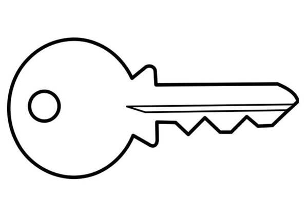 car key coloring page car key drawing images stock photos vectors shutterstock key page car coloring