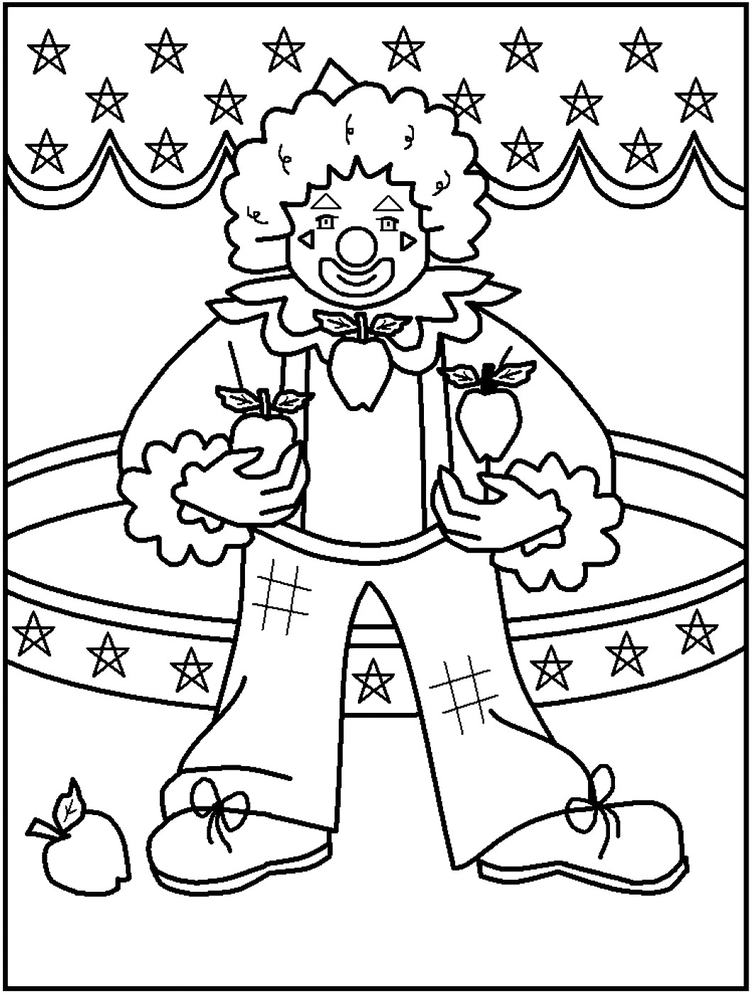 carnival clown coloring pages circus coloring pages carnival coloring pages clown