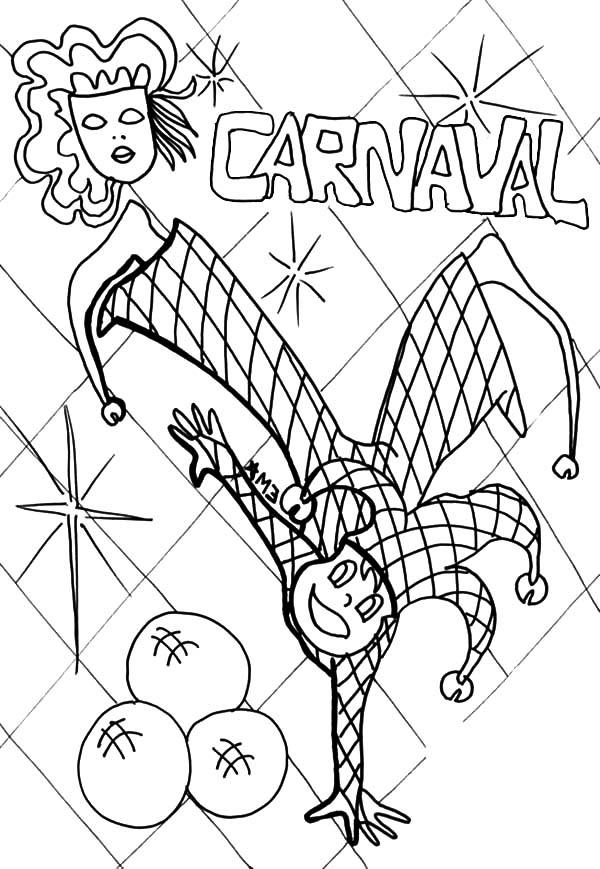 carnival clown coloring pages circus coloring pages coloring clown pages carnival