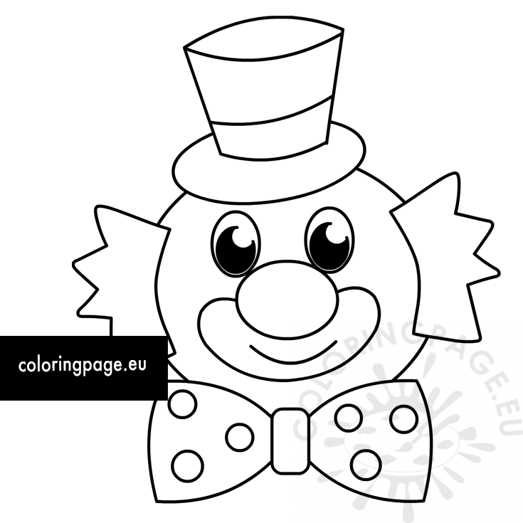 carnival clown coloring pages coloring pages circus clown coloring page circus coloring coloring carnival clown pages