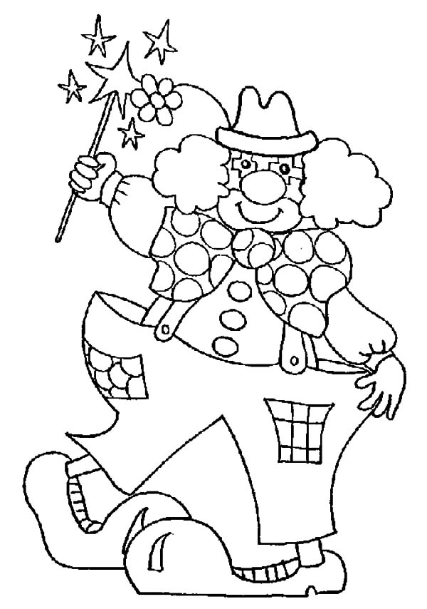 carnival clown coloring pages freddy costume at carnival coloring pages best place to pages clown carnival coloring