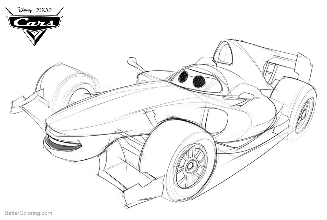 cars 2 drawing pictures cars 2 drawing pictures at getdrawings free download drawing 2 cars pictures