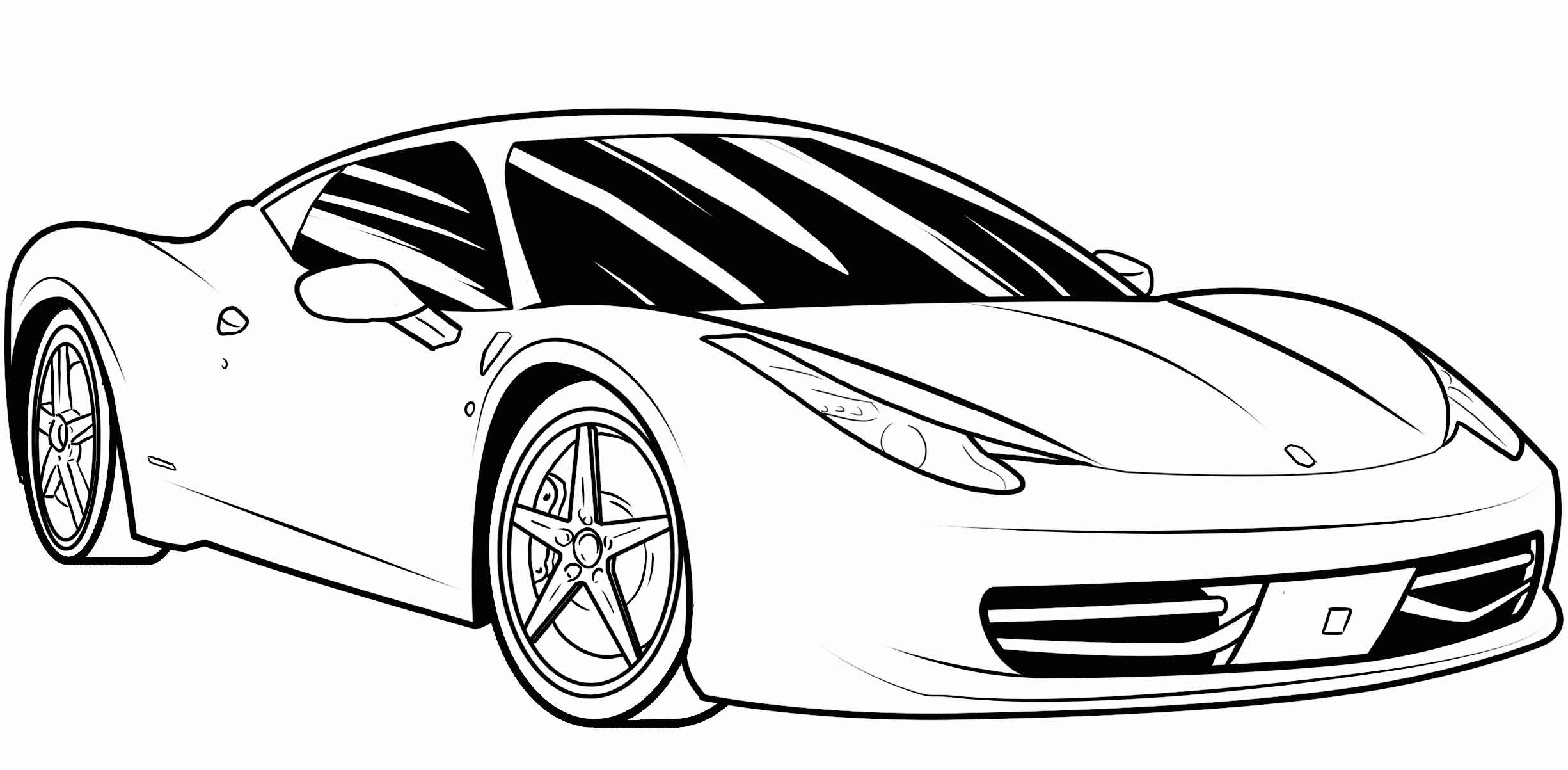 cars to color and print free printable lamborghini coloring pages for kids and print to color cars