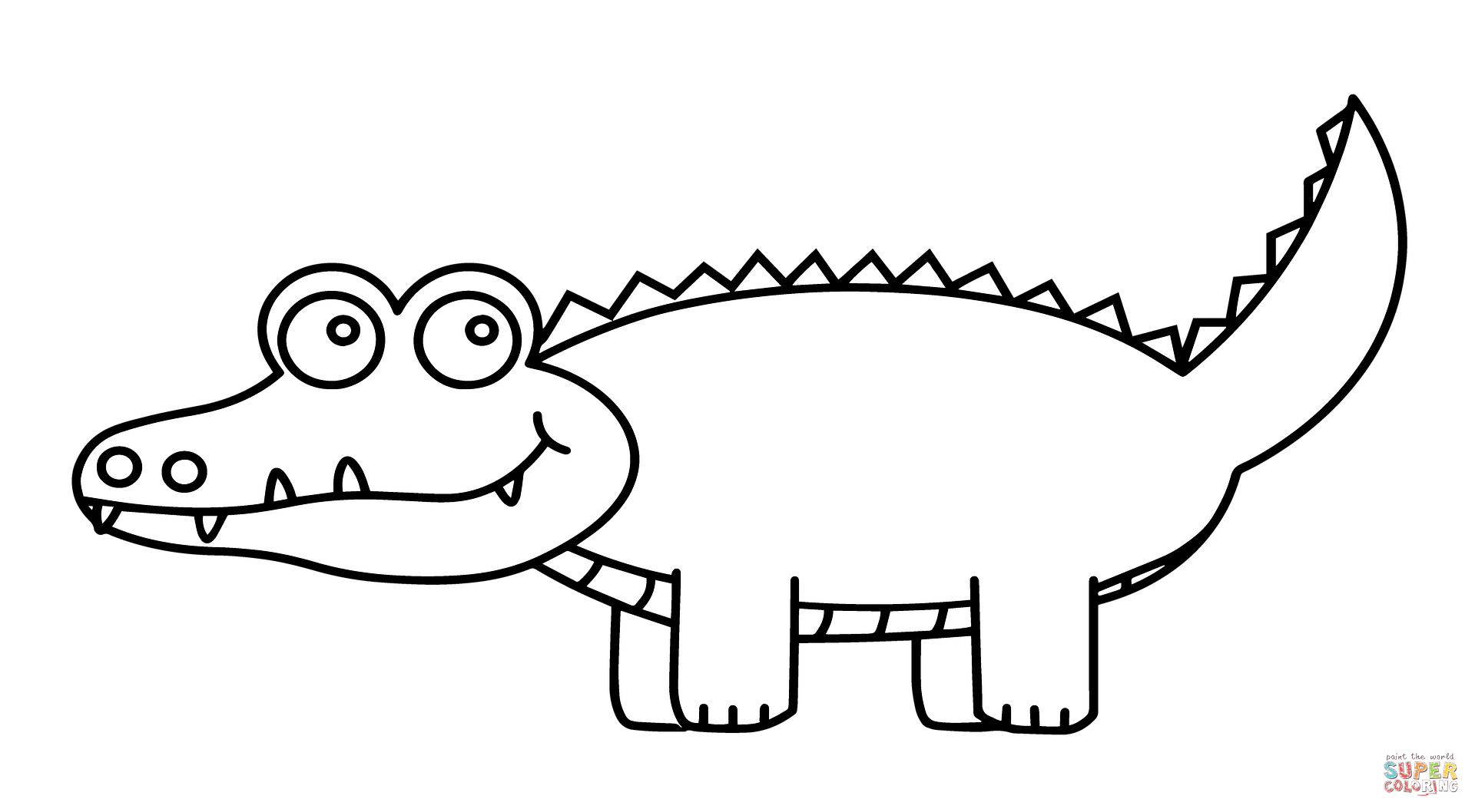 cartoon alligator coloring pages cartoon alligator coloring pages at getcoloringscom cartoon pages coloring alligator