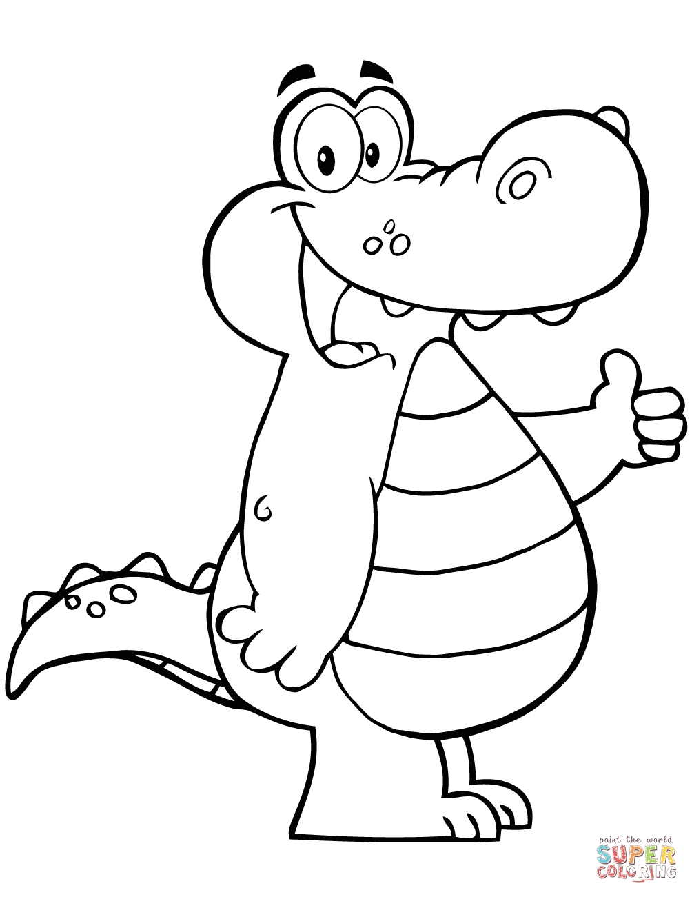 cartoon alligator coloring pages collection of alligator coloring pages alligator pages cartoon coloring