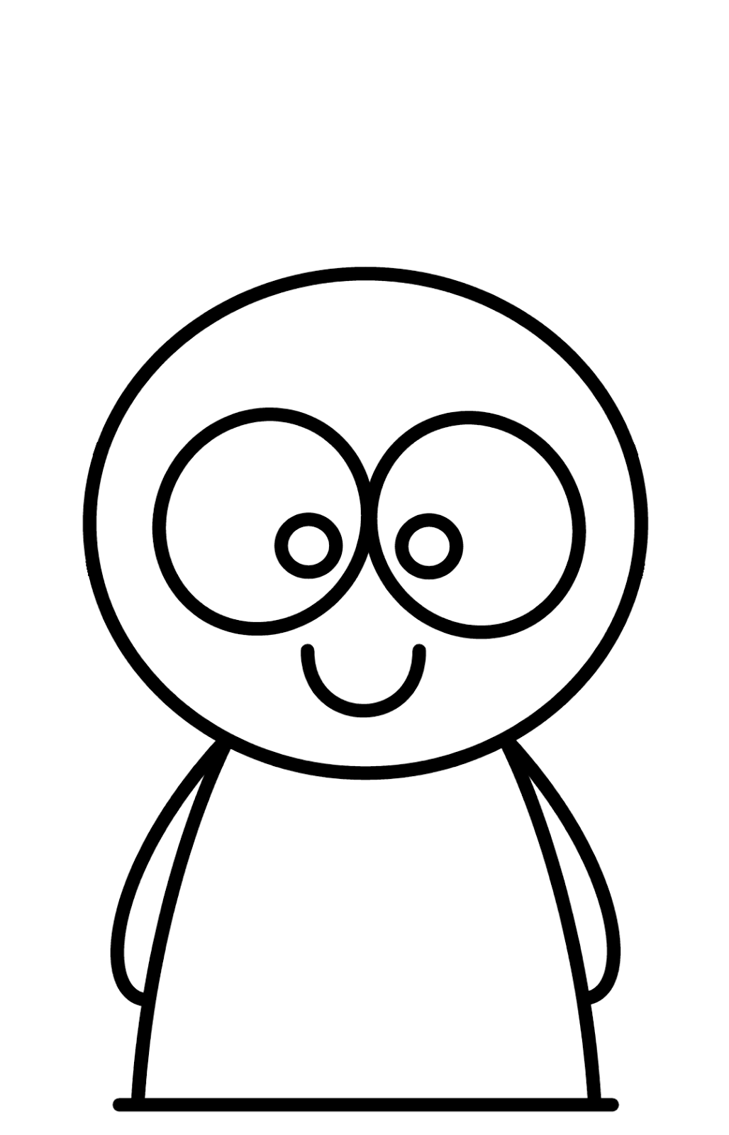 cartoon characters to draw easy easy drawing characters at getdrawings free download characters to cartoon easy draw