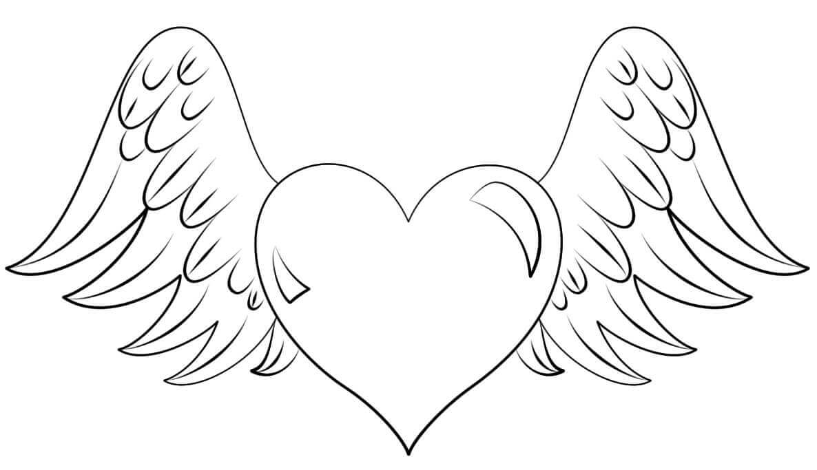 cartoon heart coloring pages heart coloring pages at getdrawings free download heart cartoon pages coloring