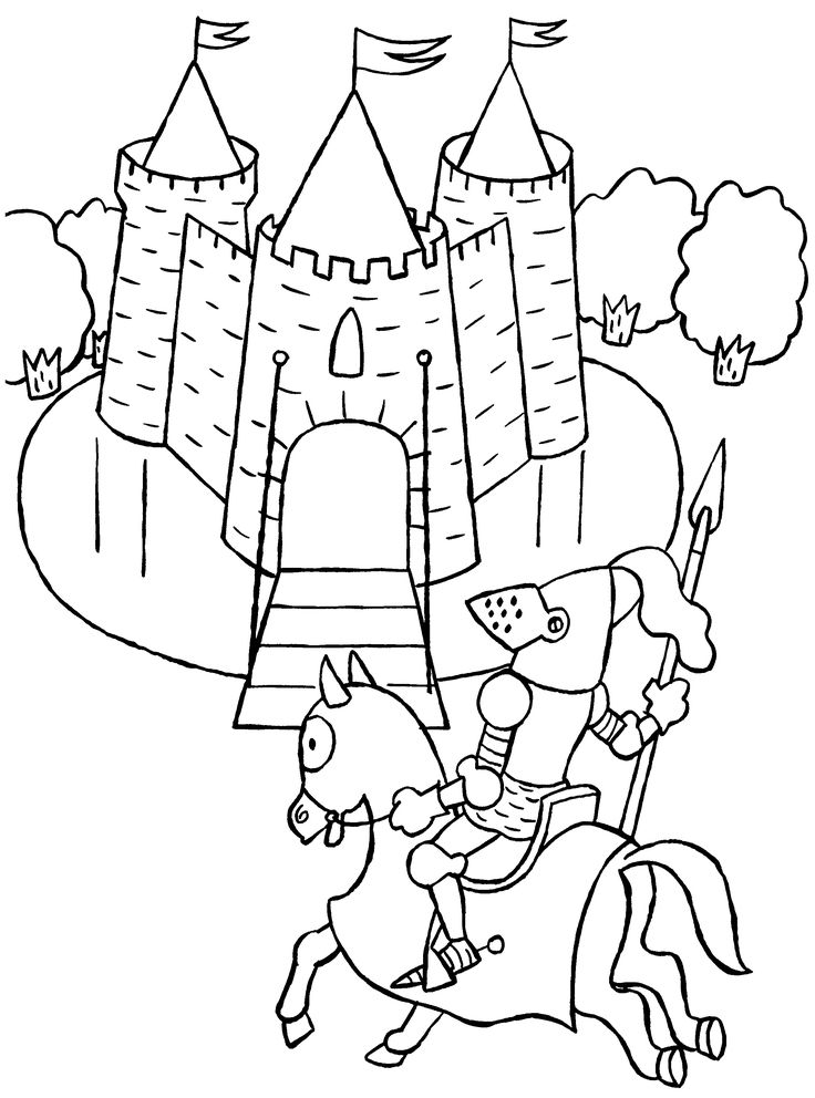 castle and knight coloring pages castles and knights coloring pages abc coloring pages knight castle and pages coloring