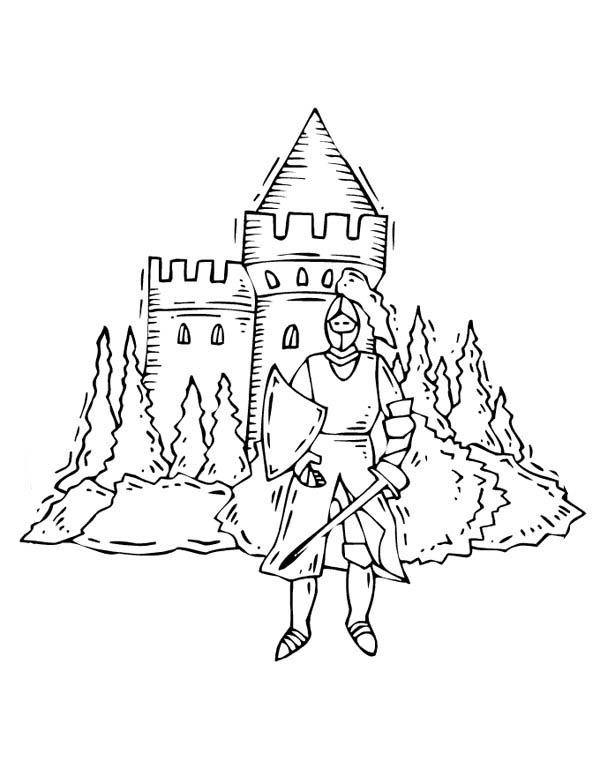castle and knight coloring pages knights and castles coloring pages coloring pages castle castle and coloring knight pages