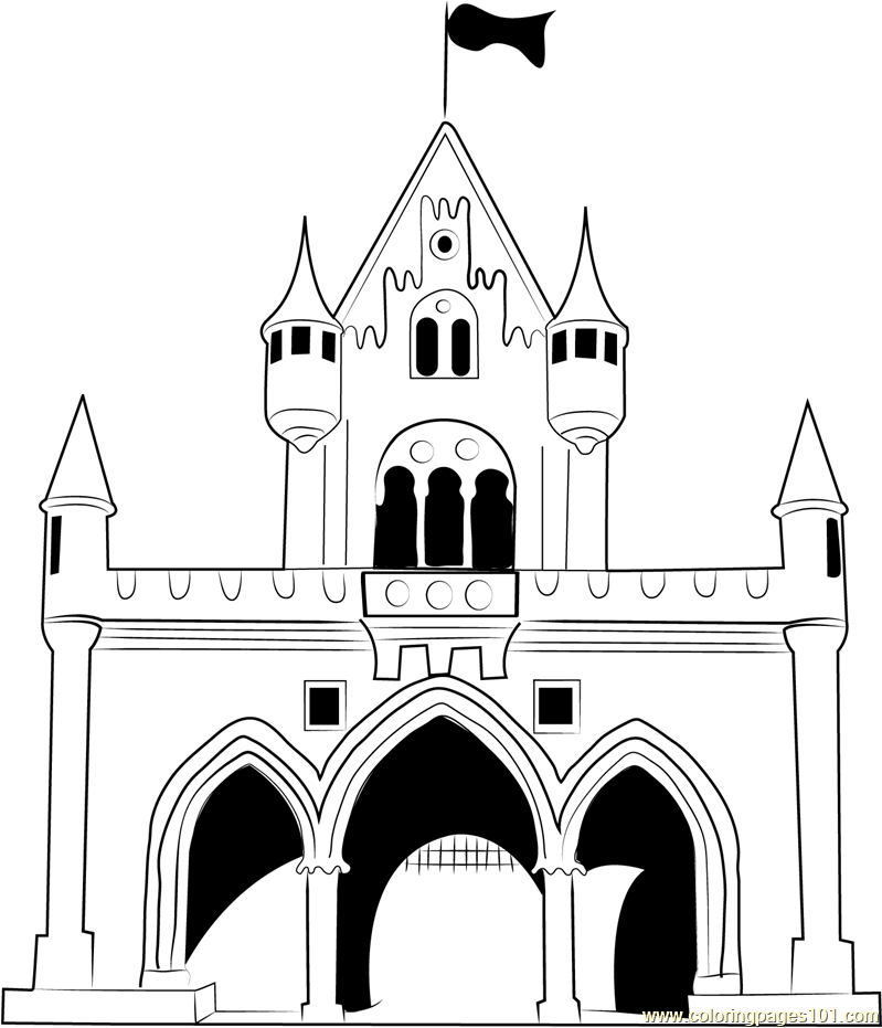castle coloring book get this castle coloring pages for adults b57s9 castle book coloring