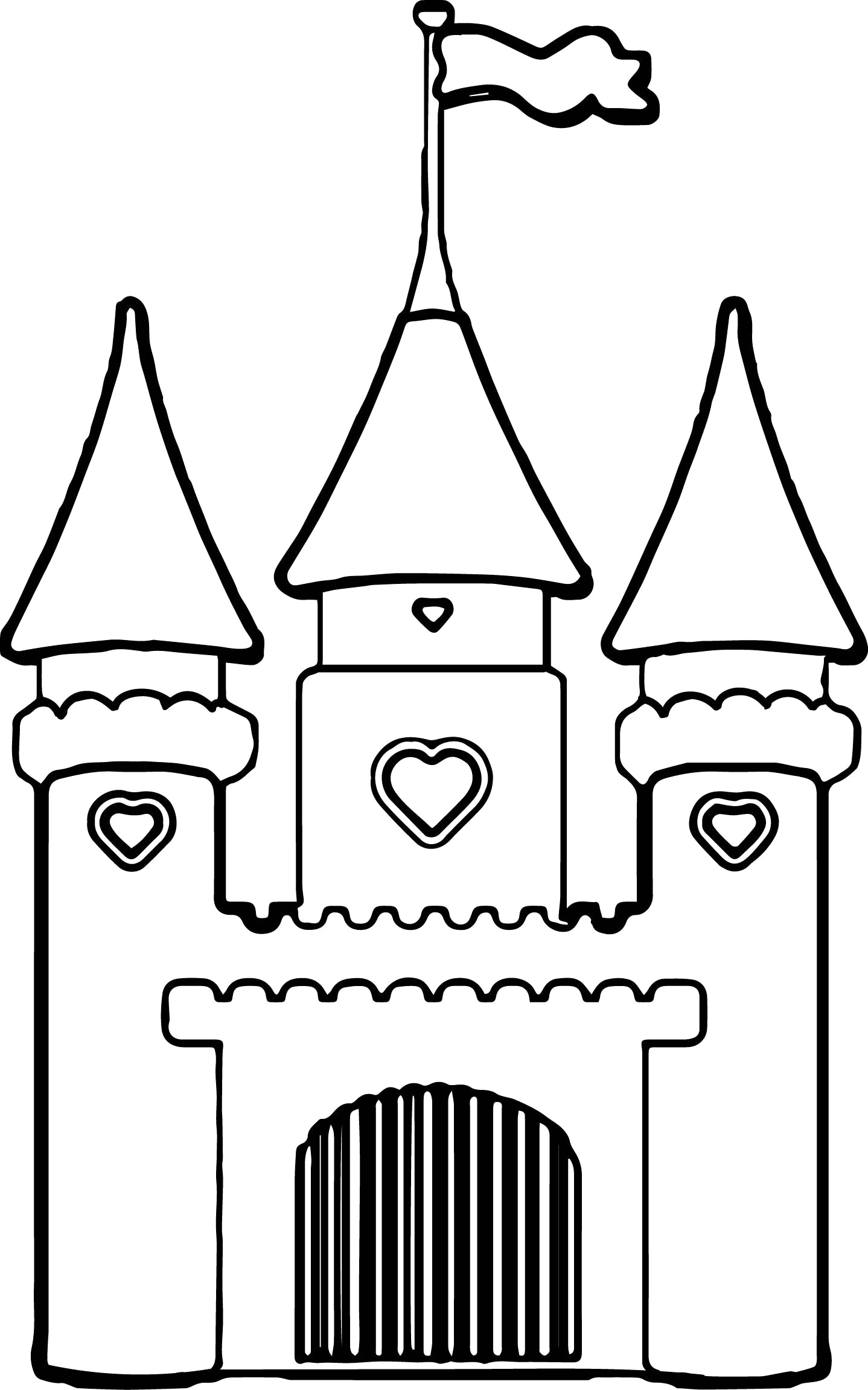 castle coloring book princess castle drawing at getdrawings free download coloring castle book