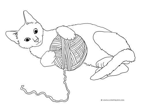 cat clipart coloring cat clipart free clipart best cat coloring clipart