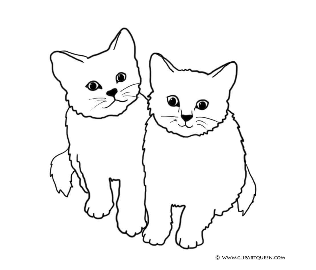 cat clipart coloring skinny cat drawing at getdrawings free download clipart cat coloring