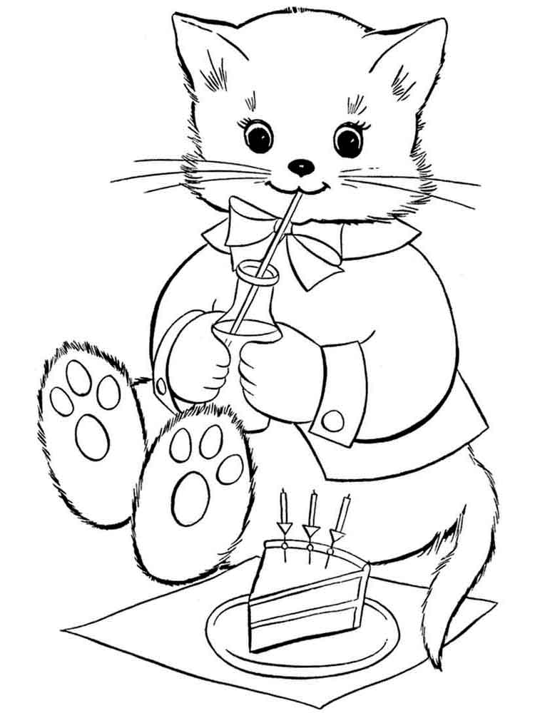 cat coloring book cat coloring page 2 super simple book cat coloring