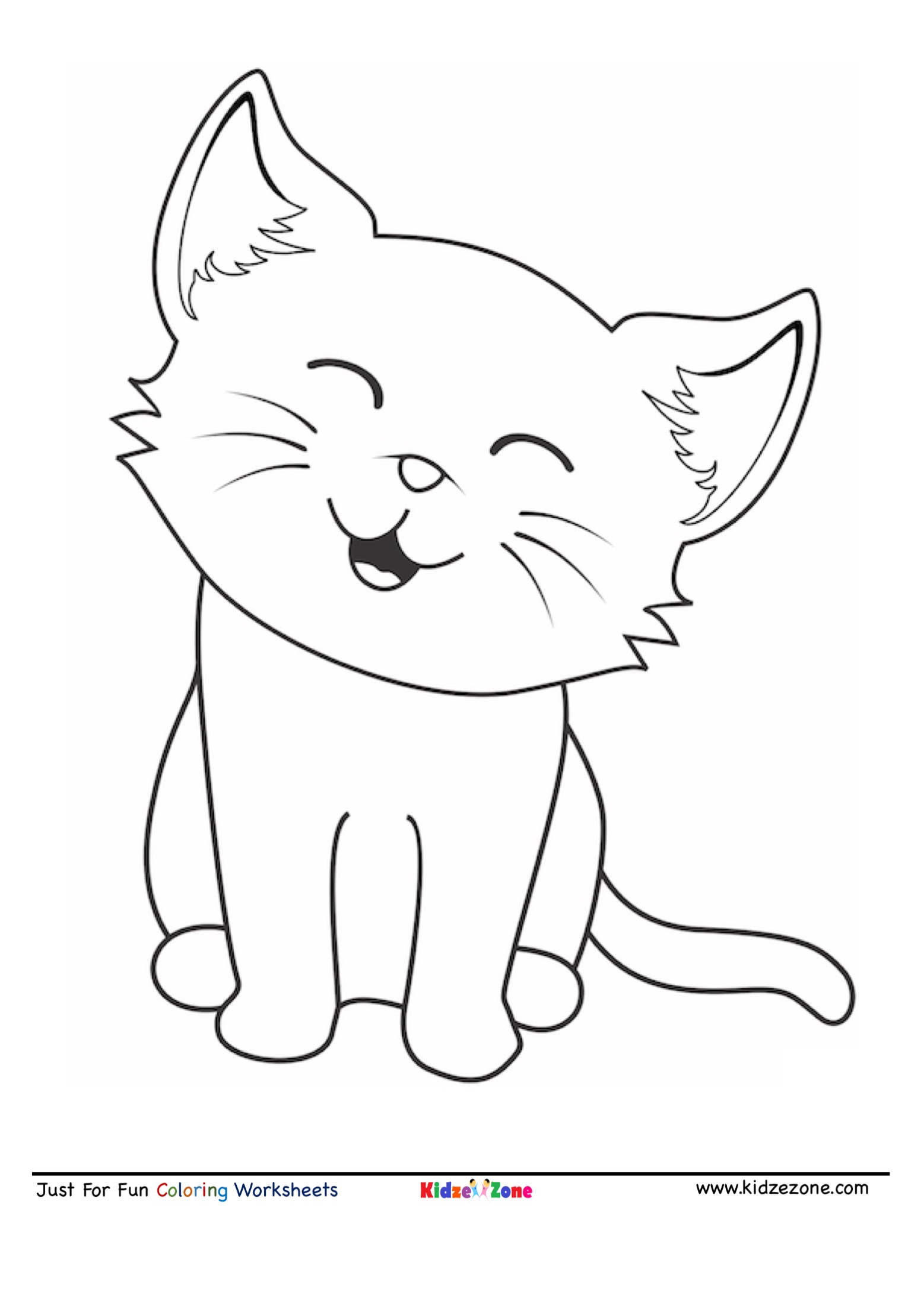cat coloring picture kitten coloring pages picture cat coloring